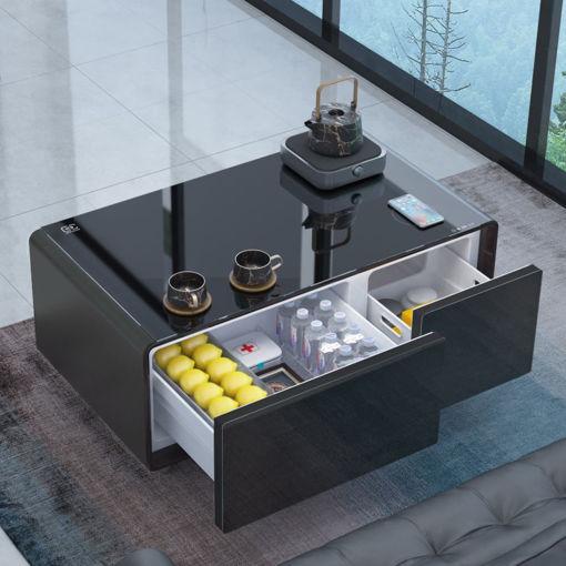 صورة سنتراكول الطاولة الذكية متوسطة الحجم - رمادي غامق