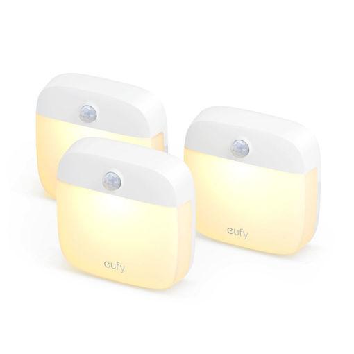 صورة يوفي لومي مصباح ليلي ( 3 قطع ) - أبيض