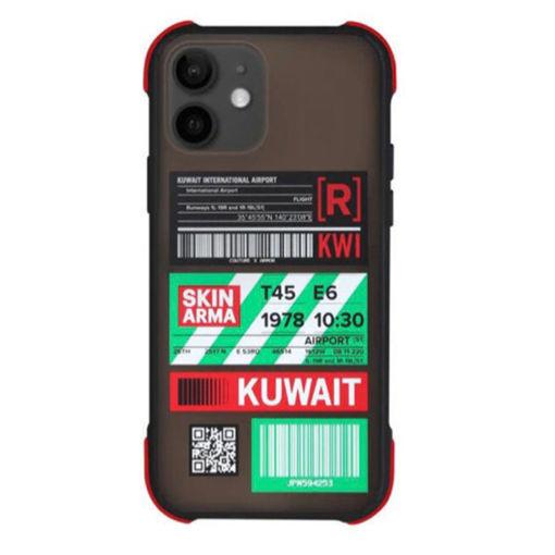 صورة سكن آرما كفر للأيفون 12 ميني - أسود\كويت