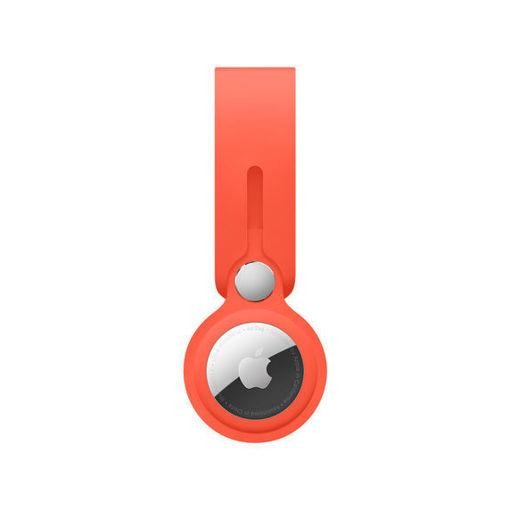 صورة أبل حاملة لجهاز التتبع - برتقالي