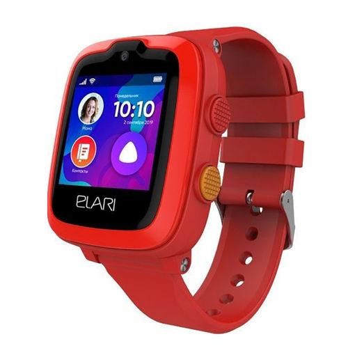 صورة إيلاري ساعة ذكية للأطفال 4 جي - أحمر