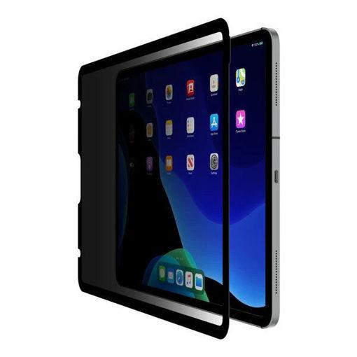 صورة بيلكن شاشة حماية من نوع سكرين فورس لجهاز أيباد برو 11 إنش وأيباد أير 10.9 إنش 2020 - للخصوصية