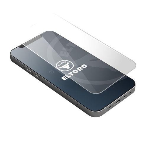 صورة إلتورو حماية شاشة لجهاز أيفون 12/12 برو - شفاف