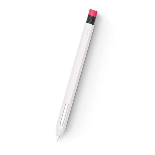 صورة إيلاقو كفر حماية لقلم أبل الجيل الثاني - أبيض