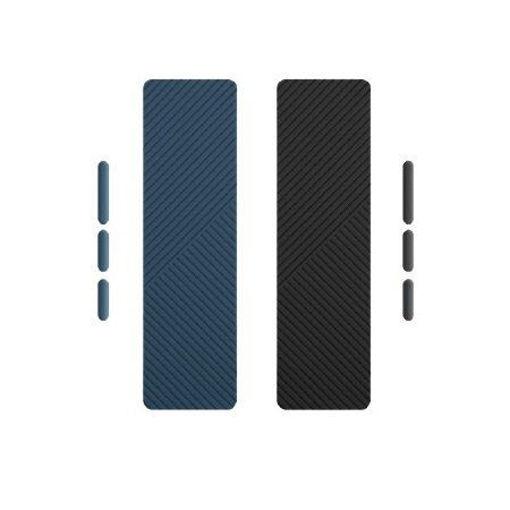 صورة يونيك فلكس جرب باند لأيفون 12 برو ماكس - أزرق/أسود