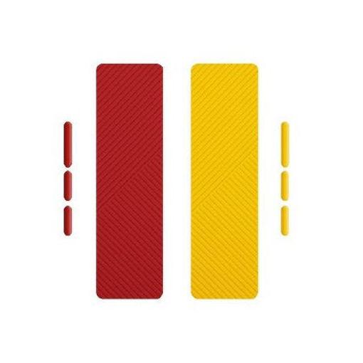 صورة يونيك فلكس جرب باند لأيفون 12/12 برو - أصفر/أحمر