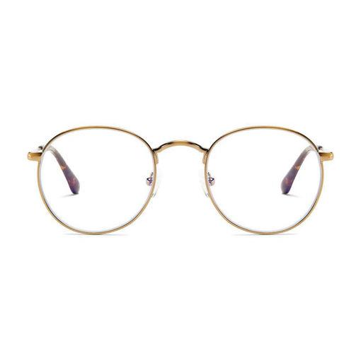 صورة بارنر ريكوليتا نظارة حماية من الأشعة الزرقاء - ذهبي