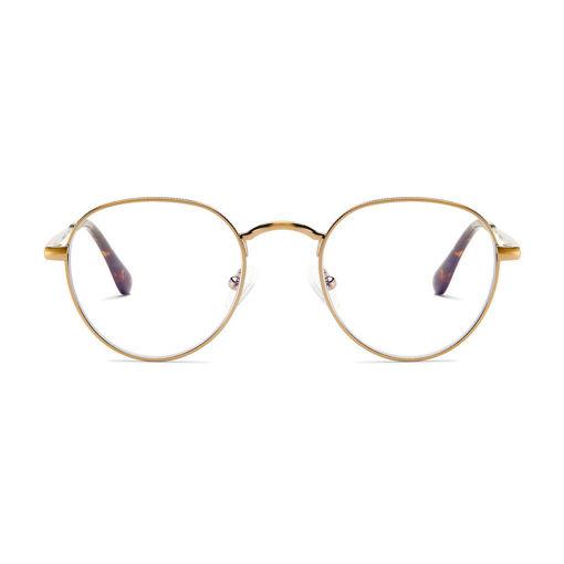 صورة بارنر جينزا نظارة حماية من الأشعة الزرقاء - ذهبي