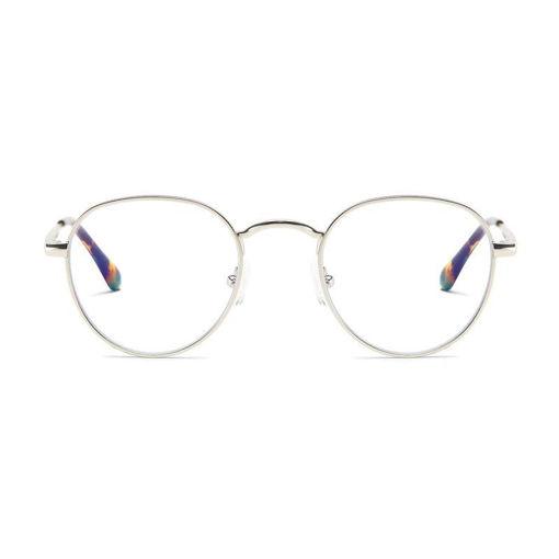 صورة بارنر جينزا نظارة حماية من الأشعة الزرقاء - فضي