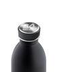 صورة 24بوتلز زجاجة من الفولاذ لحفظ درجة حرارة المشروبات بسعة 500 مللي لتر - أسود