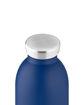 صورة 24بوتلز زجاجة من الفولاذ لحفظ درجة حرارة المشروبات بسعة 500 مللي لتر - أزرق/دهبي