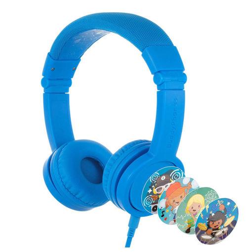 صورة بودي فونز سماعة أطفال للألعاب - أزرق