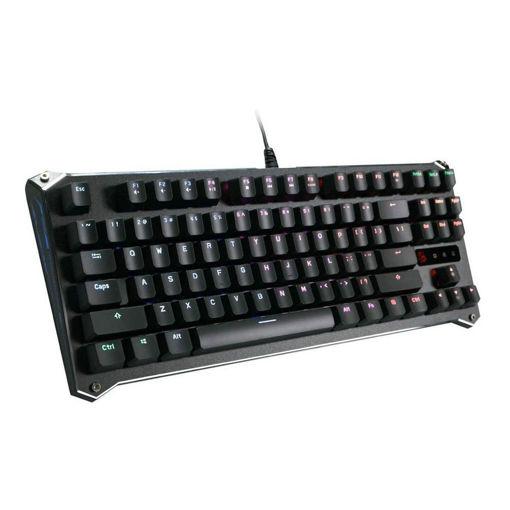 صورة بلودي لوحة مفاتيح الألعاب أوبتيكال بمفتاح برتقالي - أسود