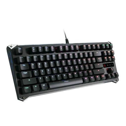 صورة بلودي لوحة مفاتيح الألعاب أوبتيكال بمفتاح بني - أسود