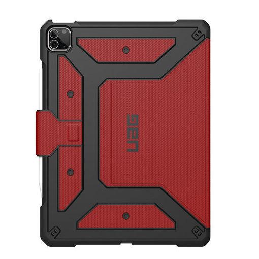 صورة يو أي جي ميتروبوليس كفر للأيباد برو 12.9 إنش الجيل الخامس  2021 - أحمر