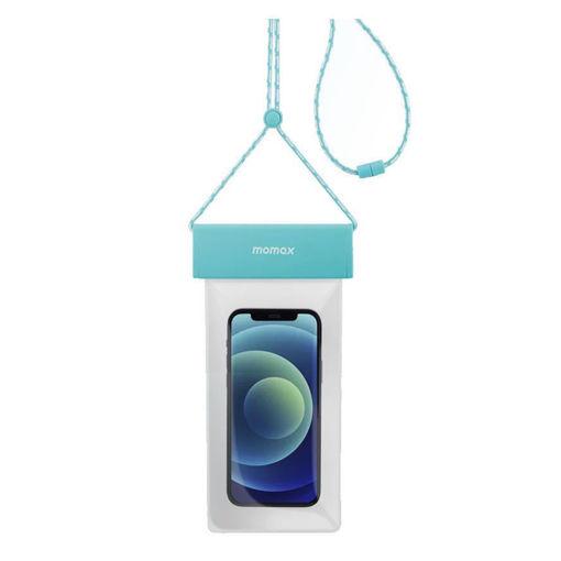 صورة موماكس كفر مقاوم للماء مع حزام للرقبة - أزرق