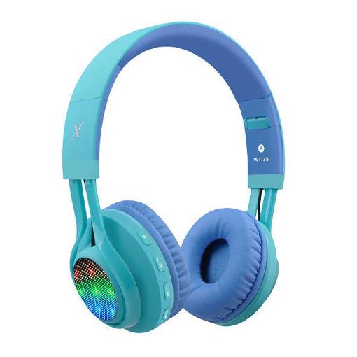 صورة ريو بوكس سماعة رأس لاسلكية للأطفال - أزرق/أخضر