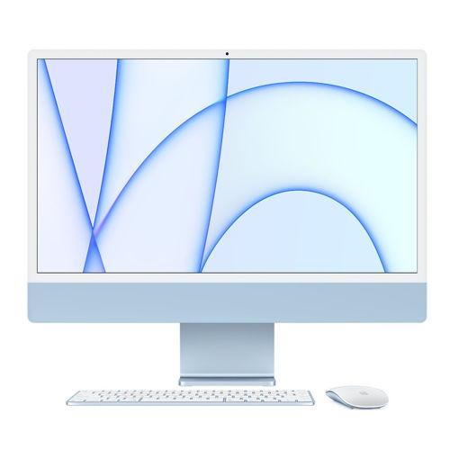 صورة أبل أي ماك 24 إنش أم 1 أي كور 8 512 جيجا بايت - أزرق