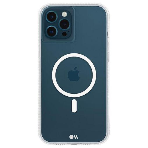 صورة كيس ميت كفر لجهاز أيفون 13 برو ماكس مضاد للبكتيريا - شفاف