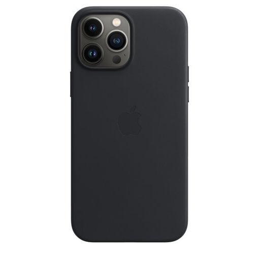 صورة أبل كفر جلد للأيفون 13 برو - أسود