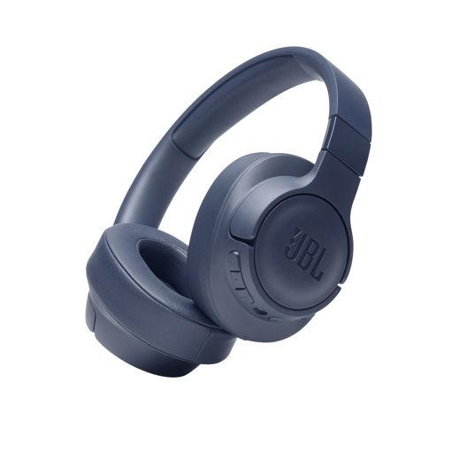 صورة جي بي إل سماعة رأس لاسلكية مع خاصية إلغاء الضوضاء - أزرق