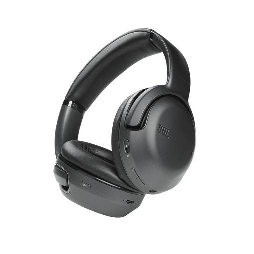 صورة جي بي إل سماعة رأس لاسلكية مع خاصية إلغاء الضوضاء - أسود