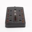 صورة إلتورو موزع كهرباء ذكي متعدد الوظائف - أسود
