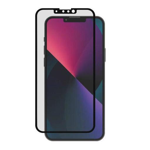 صورة جي سي بال حماية شاشة من الزجاج المقوى لجهاز أيفون 13 ميني - أسود/خصوصية