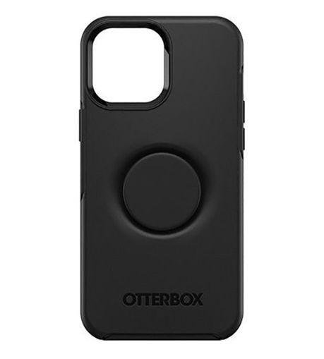 صورة أوتر بوكس سيميتري كفر مدمج به مسكة بوب سوكيت للأيفون 13 برو - أسود