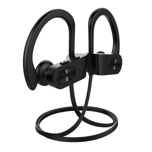 صورة إمباو سماعة أذن رياضية لاسلكية - أسود