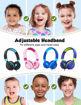 صورة إمباو سماعة رأس سلكية للأطفال - أخضر/كحلي