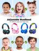 صورة إمباو سماعة رأس سلكية للأطفال - أزرق/أسود