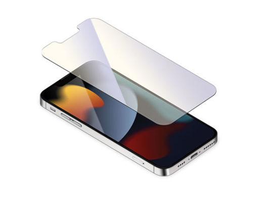 صورة توري حماية شاشة مع طلاء مضاد للبكتيريا للأيفون 13 برو ماكس - مضاد للأشعة الزرقاء