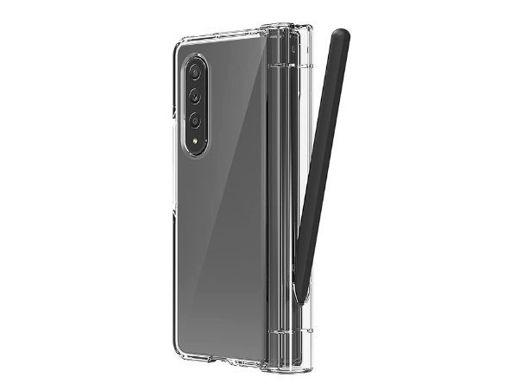 صورة أراري كفرحماية نوكين 360 مع حامل قلم لهاتف جالاكسي زد فولد3  - شفاف
